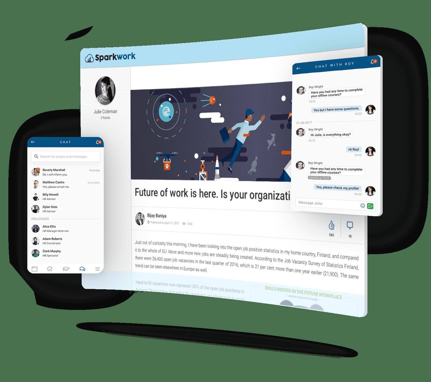 enterprise intranet digital workplace