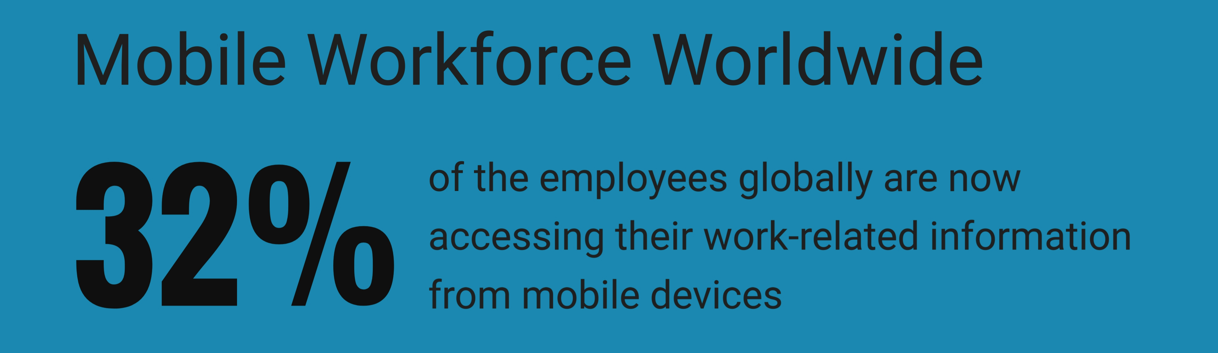 mobile workforce stats