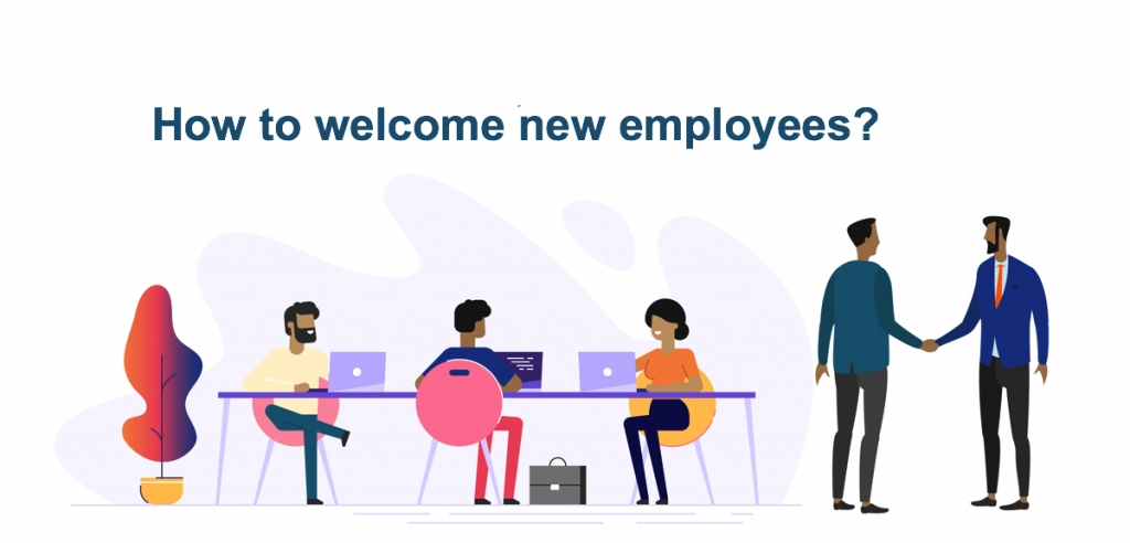 how to welcome new employees